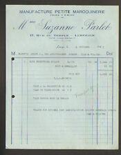 """LIMOGES (87) USINE / PETITE MAROQUINERIE """"Mme Suzanne PARLET"""" en 1947"""