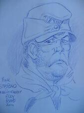 Dédicace BD PAAPE - Les misérables 1 (Jean Valjean) - Deligne