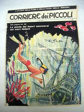 CORRIERE DEI PICCOLI N. 27 8 Luglio 1962 Anno LIV Rivista Fumetto Mari Italiani