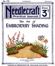Needlecraft Practical Journal #172 c.1921 - The Art of Embroidery Shading