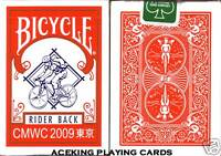 1 Deck Bicycle CMWC 2009 Tokyo Japan Playing Cards