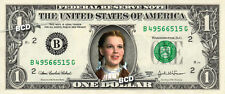 DOROTHY Judy Garland Wizard of Oz on a REAL Dollar Bill Cash Money Collectible