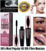 💜4D Silk Fibre Mascara Eyelash Waterproof Extension Volume Long Lasting Make Up