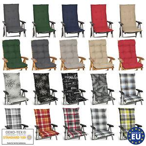 Sitzkissen Polster Auflage Kissen Rückenkissen Hochlehner Polsterauflage Sessel