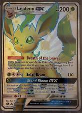 Pokemon  - Hidden Fates - Leafeon GX SV46/SV94 - Shiny Ultra Rare - NM/M