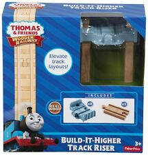 Thomas & Friends Wooden Railway Build-it-Higher Elevate Track Riser Toy