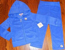 JUICY COUTURE TODDLERS/KIDS GIRLS BRAND NEW 2Pc HOODED SET SPORT SUIT Sz 2T, NWT