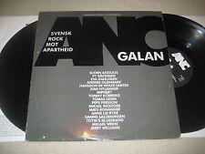 Svensk Rock mot Apartheid - ANC Galan   Vinyl 2 LP