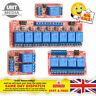5V 12V 24V 1-2-4-8 Channel Relay High Low Level Optocoupler Module Arduino PI