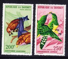 More details for dahomey 1967 sg271/2 air birds - set of 2 - superb unmounted mint. catalogue £19