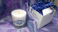 "Scented 2 Day ""​Forever In My Heart"" White Remembrance Candle Memorial Glass Jar"