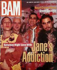 JANE'S ADDICTION - BAM MAGAZINE - COVER STORY - NOVEMBER 21, 1997