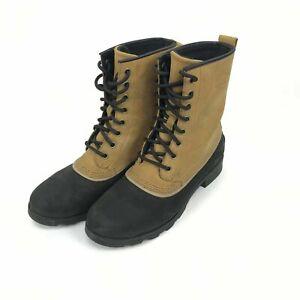 SOREL Emelie 1964 waterproof cold weather block heel booties size 8 (NL2648-286)