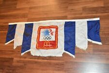 McDonald's Olympics Flag Banner 1980 Moscow 1984 Los Angeles USA Pageantry World