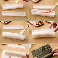3pcs Sushi Maker Kit Rice Roll Mold Kitchen DIY Easy Chef Mould Roller Tool  I