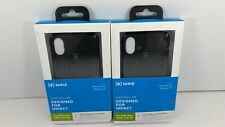 New!Speck CandyShell Fit iPhone Xs/iPhone X Case - Black Lot Of 2