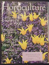 Horticulture Magazine the art of american gardening Bromelaids February 1997