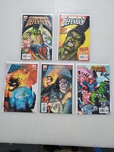 DEFENDERS #1, 2, 3, 4, 5 Marvel Comics - 2005 MINI-SERIES