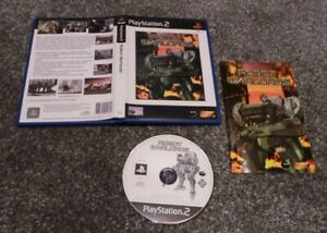 ROBOT WARLORDS PS2 PAL COMPLETE WITH MANUAL