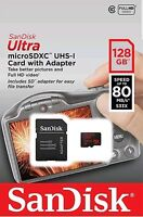 128GB SanDisk Ultra MicroSD SDXC UHS-I 100MB/S  Memory Card Class 10 UK SELLER