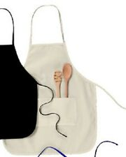 Apron Plain Blank Chef Butcher Home Cook BBQ Customize Embellish Decorate Crafts