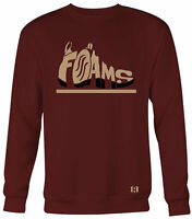 """FOAMS"" Sweatshirt to Match Foamposite One ""NIGHT MAROON"""