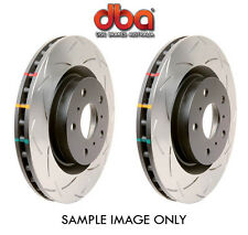 DBA T3 4000 Slotted REAR Rotors Ford Falcon BA XR6 Turbo XR8/BF/XR6/FG/XR6