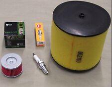 2002 Honda TRX400EX Tune Up Kit Air & Oil Filter + Spark Plug 99-08 TRX 400EX T6