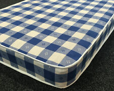 4ft6 double budget spring cheap mattress - 6 inches - Open coil spring