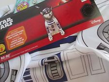 Star Wars DOG Pet R2-D2 COSTUME XL Shirt with Paw Covers & Hat ROBOT NEW