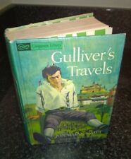 Vintage Companion Library Two Stories In One Book Treasure Island Gulliver's Tra
