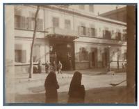 Egypte, Caire (القاهرة), Vue de la ville  vintage citrate print Tirage citrate
