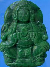 Chinese Jade Jadeite Guang Qin Pendant