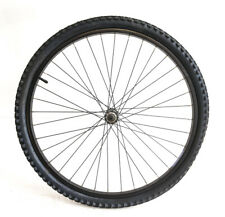"26"" Veronique Hybrid / Mountain Bike Front Wheel + Tire QR Black NEW"