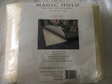"Vtg NIB Made In USA Magic Hold Rug Pad For Rugs Over Carpet 56"" X 90"""