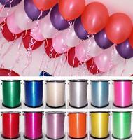 Wedding Gift Wrap Balloon Curling Ribbon 220m Birthday Party Hanging Decoration
