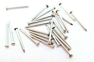 Escutcheon Pins Stainless Steel 20mm Best Quality 50 - 999 Crafting FREE POSTAGE