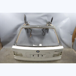 1999-2003 BMW E39 5-Series Touring Wagon Rear Trunk Lid Tail Gate Door White OEM
