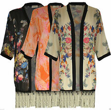 Hip Length Floral Regular Size Coats & Jackets for Women