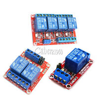 For High Low Level Trigger 5V/9V/12V/24V 1/2/4 Channel Optocoupler Relay Module