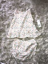 GAP Baby Girl 2 Piece Set Top Knickers 12-18 Months