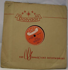 "CATERINA VALENTE - JEALOUSY / THE BREEZE AND I 78 rpm 10"" Polydor"
