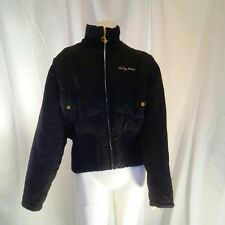 Baby Phat Womens Vintage Authentic Black Puffer Jacket Large