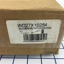 NEW Genuine OEM GE Dishwasher WHITE FRONT PANEL WD27X10254