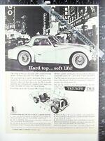 2) 1960 ADS Triumph TR-3 Vegas Vic Fremont St Binion horseshoe, Daimler Borgward