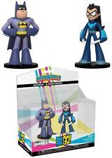 DC Teen Titans Go Hero World Series 3 Batman & Robin 4-Inch Vinyl Figure 2-Pack