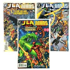 Jla Titans 1-3 Complete Limited Series 1999 Dc Aquaman Flash Impulse Supergirl