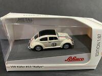 Schuco Volkswagen Beetle Kafer Rallye #53 1/87