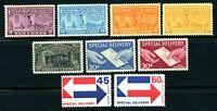 USAstamps Unused VF US Special Delivery Set Scott E15-E23 OG MNH