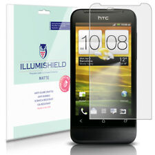 iLLumiShield Matte Screen Protector w Anti-Glare/Print 3x for HTC One V
